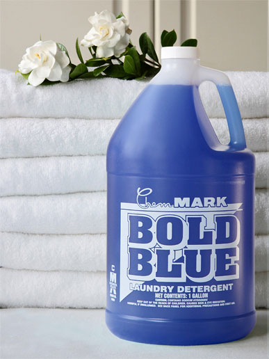 Bold Blue Industrial Laundry Detergent